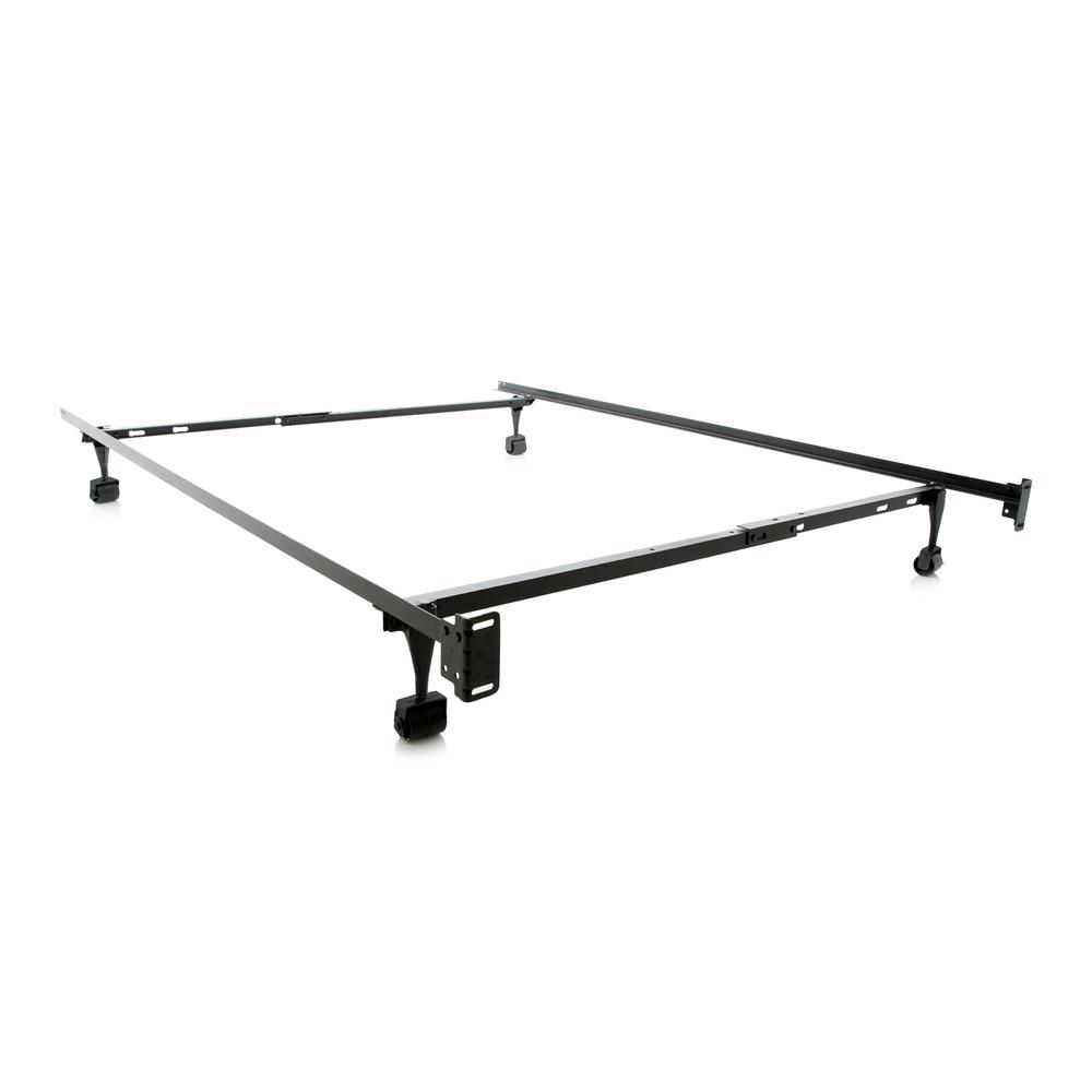 Structures Twin/Full Adjustable Bed Frame - Wheels