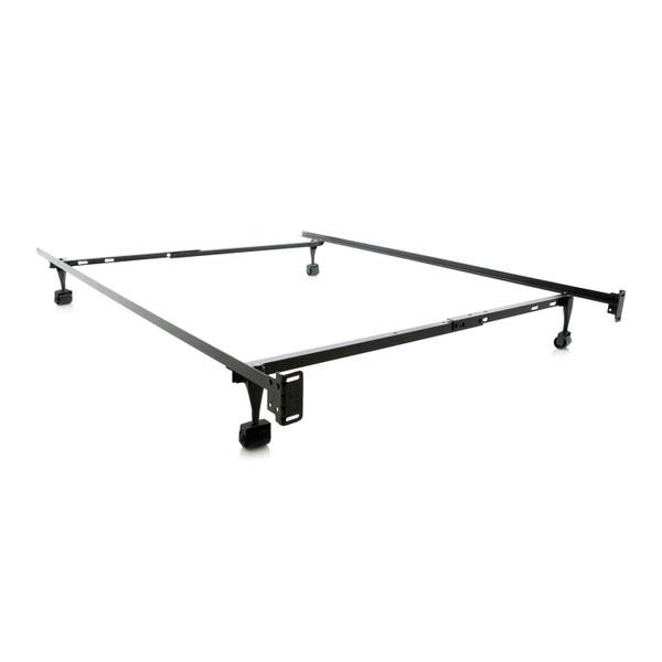 See Details - Structures Twin/Full Adjustable Bed Frame - Wheels