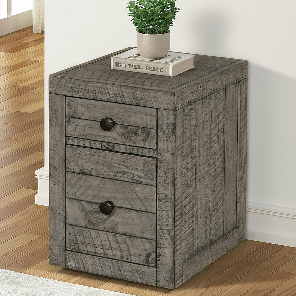 See Details - TEMPE - GREY STONE Rolling File