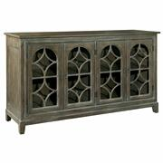 2-7457 Entertainment Console With Arched Doors Product Image