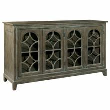2-7457 Entertainment Console With Arched Doors