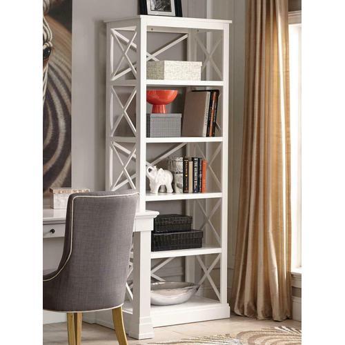 Johansson Antique White Bookcase