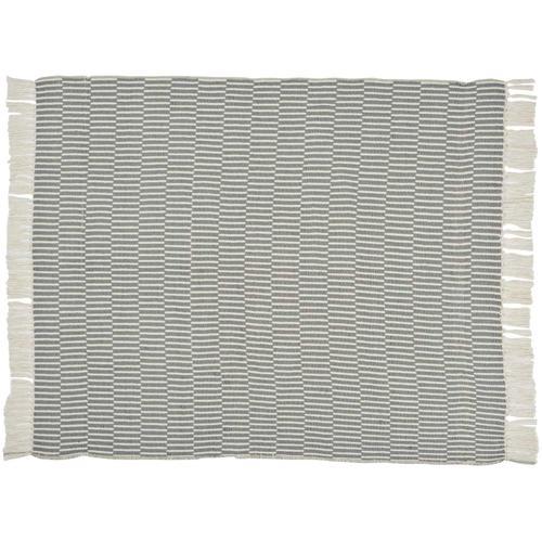 "Throw Blankets Sh354 Charcoal 50"" X 60"""