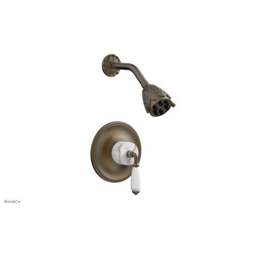 VALENCIA Pressure Balance Shower Set PB3338B - Old English Brass