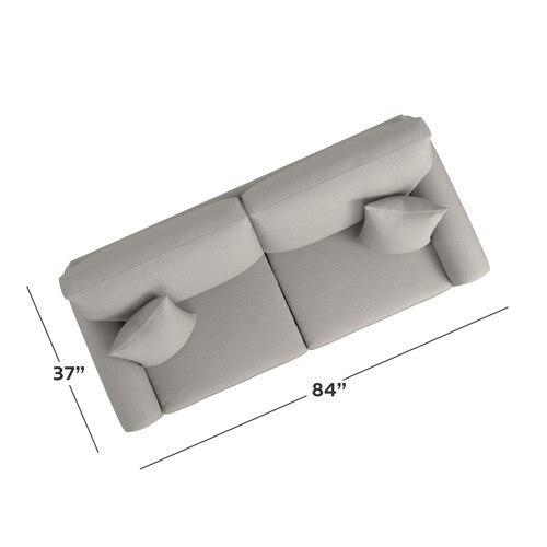 CU.2 Sofa, Arm Style Wedge
