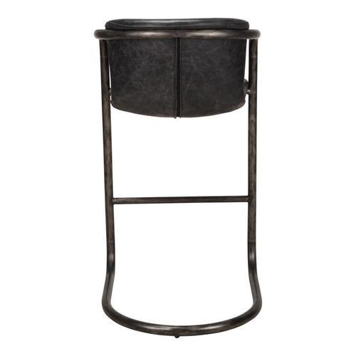 Moe's Home Collection - Freeman Barstool Antique Black-m2
