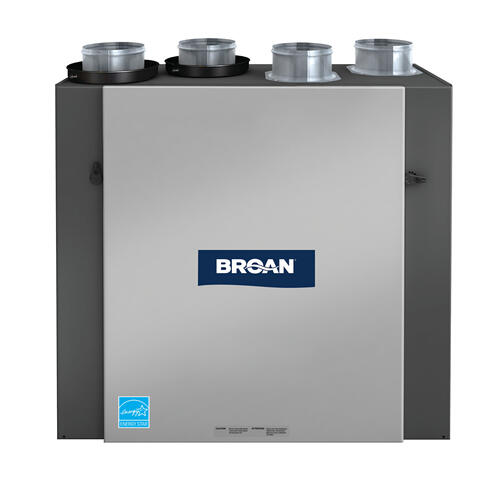Broan® HE Series Heat Recovery Ventilator, 156 CFM at 0.4 in. w.g.