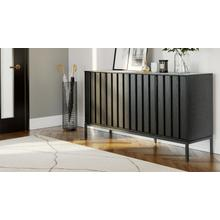 See Details - Cosmo 5729 Storage Console in Ebonized Ash