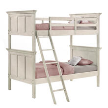 San Mateo Youth Twin over Twin Bunk Bed  Rustic White