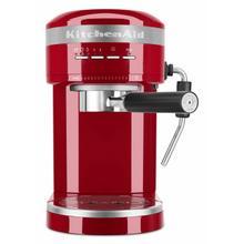See Details - Metal Semi-Automatic Espresso Machine - Empire Red