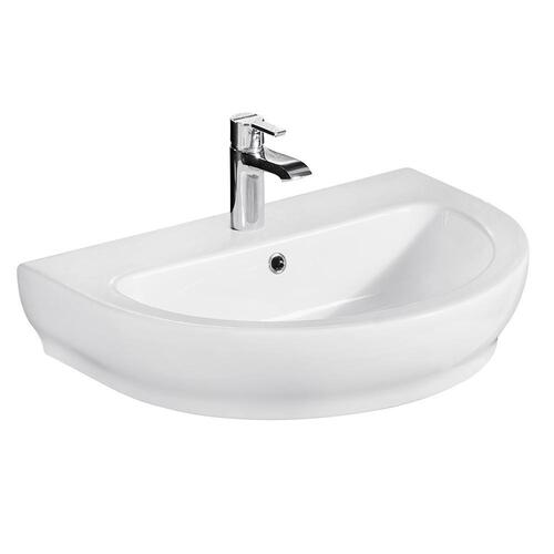 Harmony 800 Wall-Hung Basin - Single-Hole