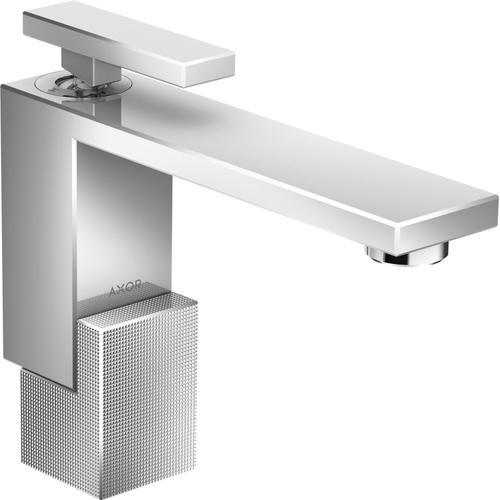 AXOR - Chrome Single-Hole Faucet 130 - Diamond Cut, 1.2 GPM