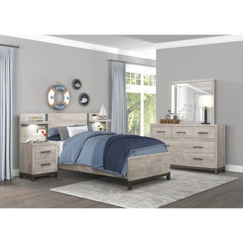 Homelegance - Wall Panel for Night Stand, 1-Piece