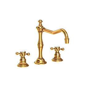 Aged Brass Kitchen Faucet