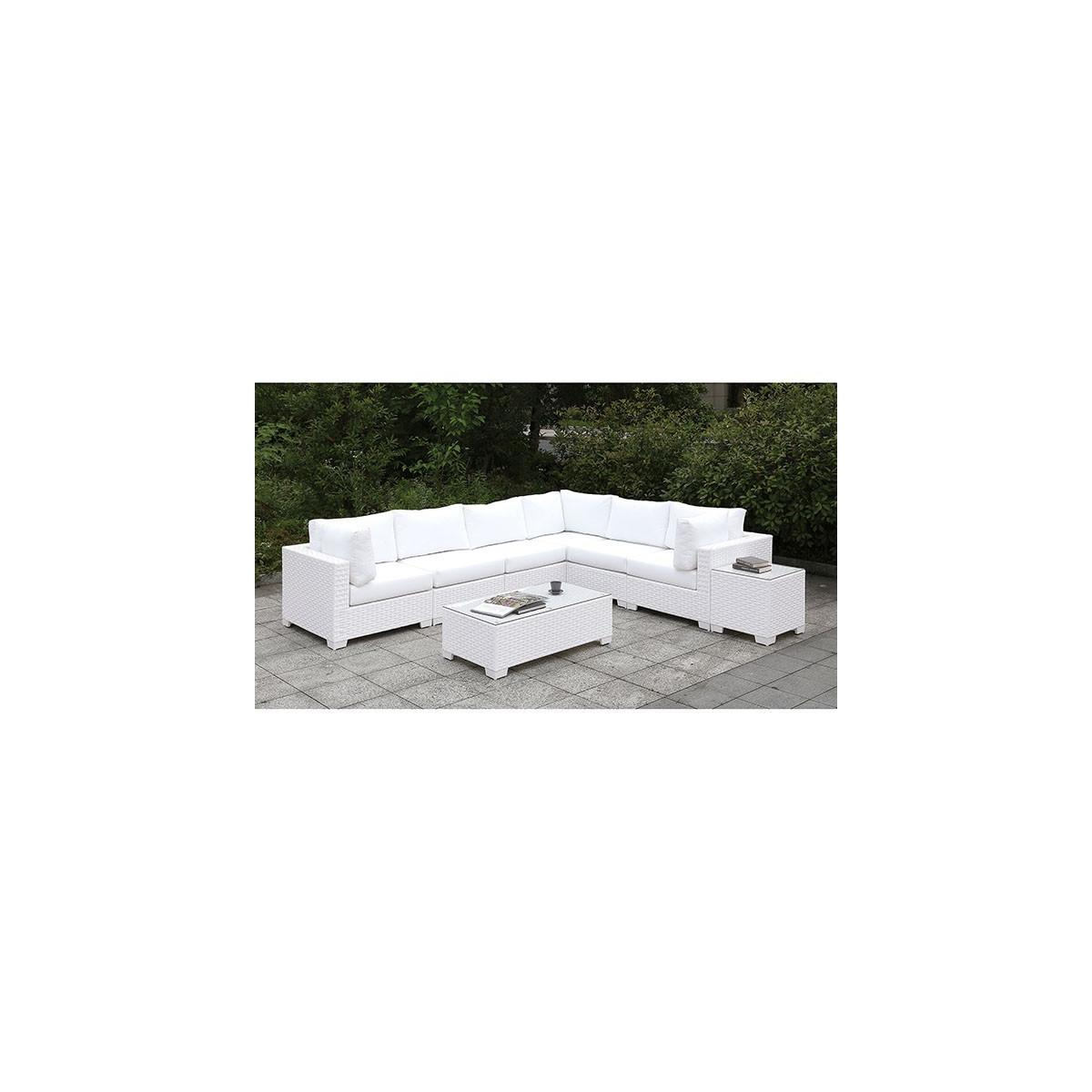 Somani L-Sectional + Coffee Table