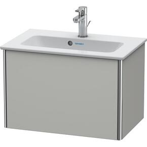 Vanity Unit Wall-mounted Compact, Concrete Gray Matte (decor)
