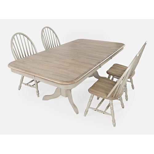 Jofran - Westport Table & 4 Chairs 2 tone
