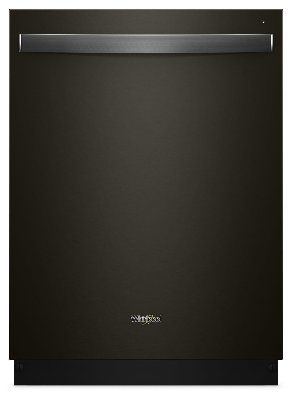 WhirlpoolStainless Steel Tub Dishwasher With Third Level Rack Fingerprint Resistant Black Stainless