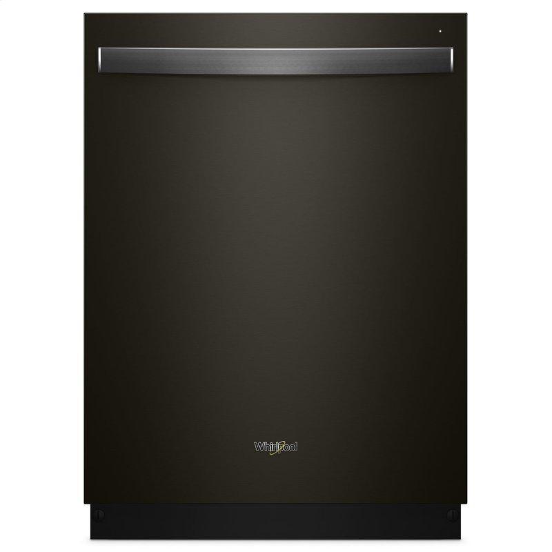 Stainless Steel Tub Dishwasher with Third Level Rack Fingerprint Resistant Black Stainless