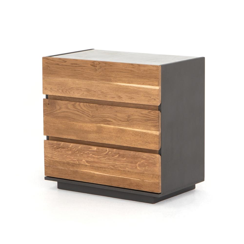 Holland 3 Drawer Dresser-dark Smoked Oak