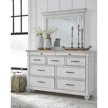 Kanwyn - Whitewash Dresser & Mirror