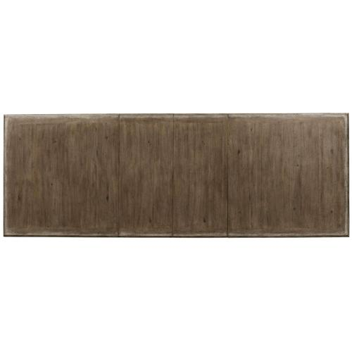 Dining Room Rectangle Dining Table Top with 2-20'' Leaves