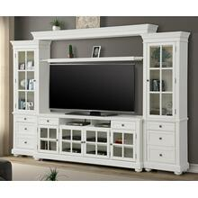 "CAPE COD 4 piece 76"" Entertainment Wall"