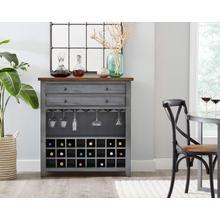 "See Details - 40"" Wine Cabinet"