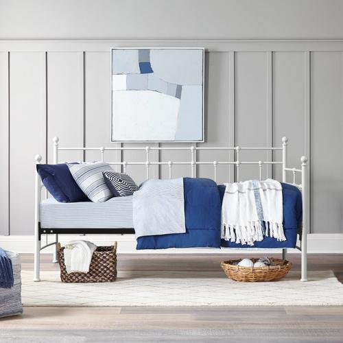 Gallery - Providence Metal Twin Daybed, Soft White