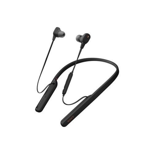 Gallery - Wireless In-ear Noise Canceling Headphones with Microphone - Black
