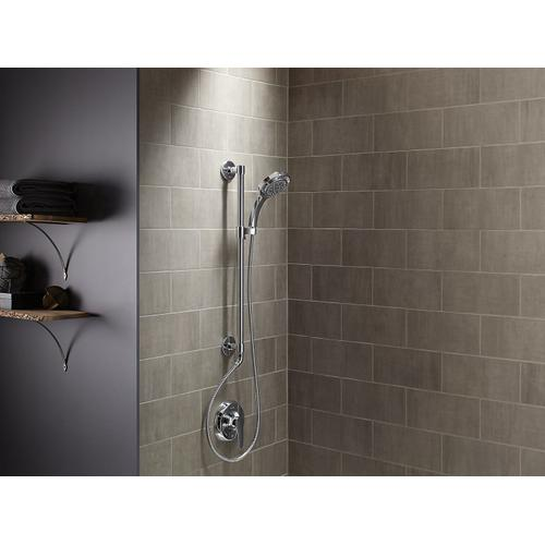 Vibrant Brushed Nickel Bath/shower Column