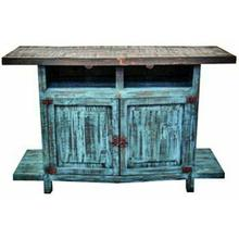 See Details - Turquoise TV Stand