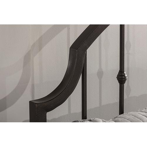 Product Image - Westgate King Bed With Frame - Rustic Black