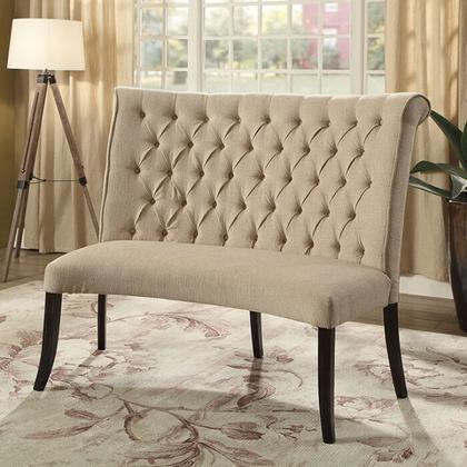 See Details - Nerissa Round Love Seat Bench