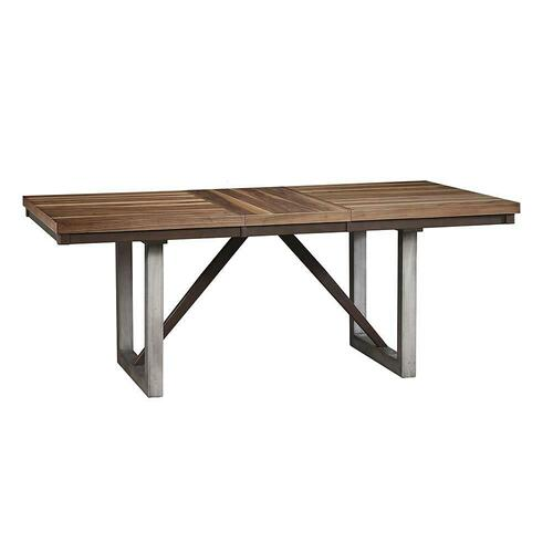 Spring Creek Industrial Natural Walnut Dining Table