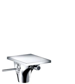 Chrome Single lever bidet mixer with pop-up waste set Product Image