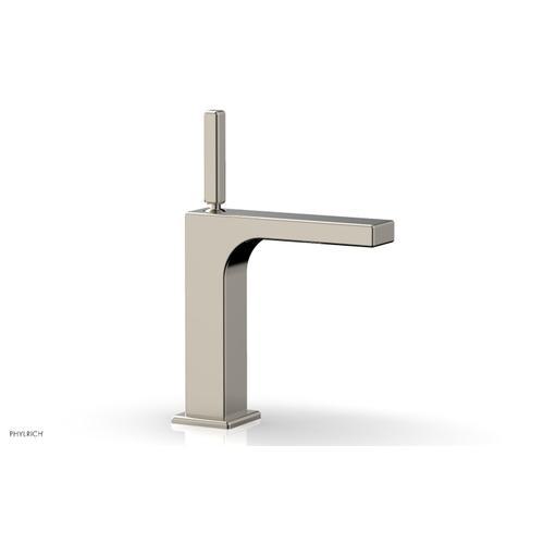 MIX Single Hole Lavatory Faucet, Blade Handle 290-06 - Polished Nickel