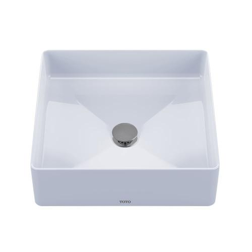 Arvina Square Vessel Lavatory - Cotton