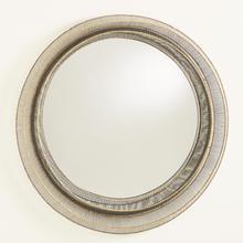 See Details - Wire Ribbon Mirror-Natural Iron/Brass Braising