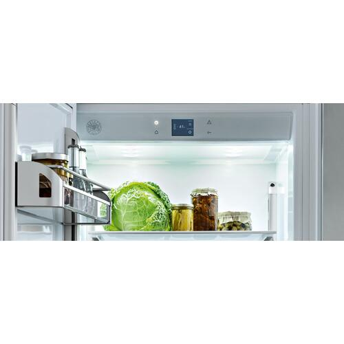 "30"" Built-in Refrigerator Column Panel Ready Panel Ready"