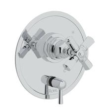 See Details - San Giovanni Pressure Balance Trim with Diverter - Polished Chrome with Cross Handle