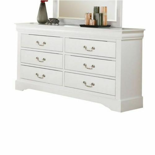 ACME Louis Philippe III Dresser - 24505 - White