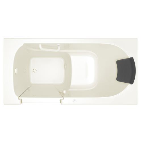 American Standard - Premium Series 30x60 Air Spa Walk-in Tub, Left Drain  American Standard - Linen