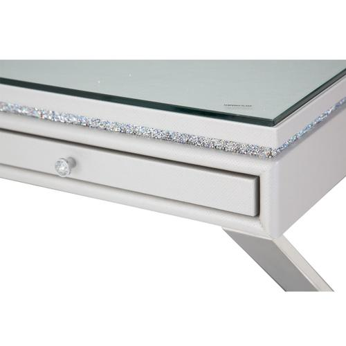 Writing Desk W/glass Top