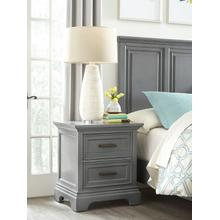 Nightstand in Mineral Gray