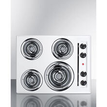 "24"" Wide 4-burner Coil Cooktop"