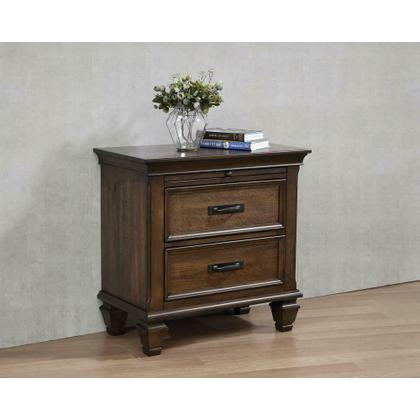 See Details - Franco Two-drawer Nightstand With Tray