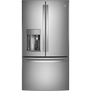 GE ProfileGE Profile™ Series ENERGY STAR® 22.1 Cu. Ft. Smart Counter-Depth Fingerprint Resistant French-Door Refrigerator with Keurig® K-Cup® Brewing System