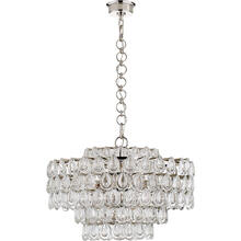 AERIN Liscia 12 Light 25 inch Polished Nickel Chandelier Ceiling Light, Medium