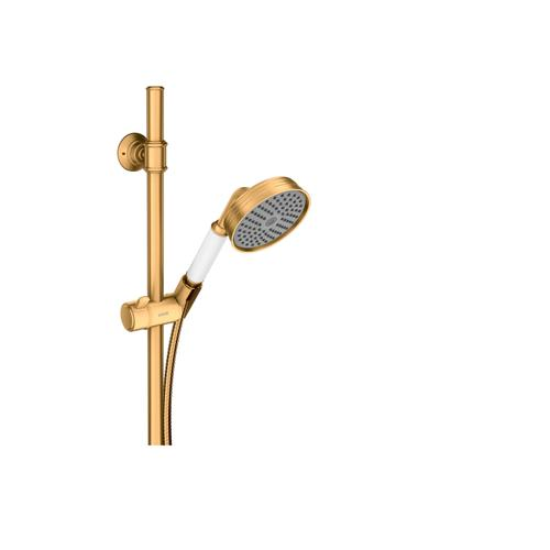 Brushed Gold Optic Shower set 0.90 m with hand shower 100 1jet